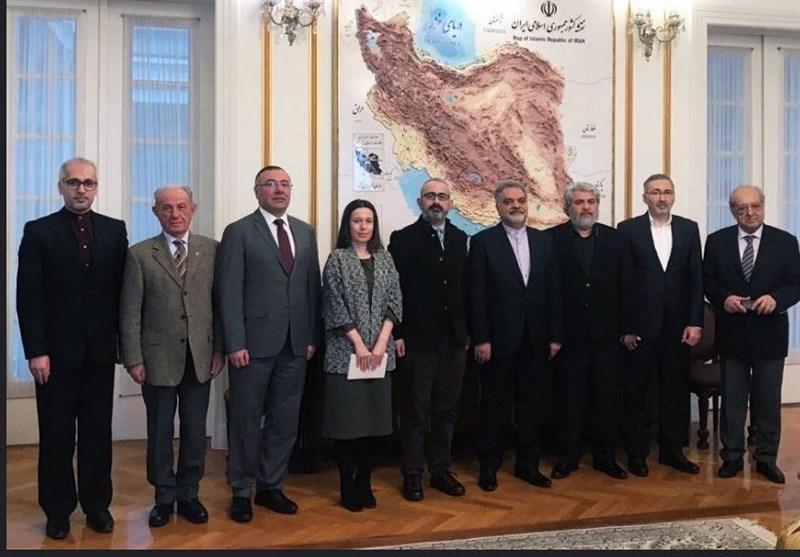 دیدار رئیس موسسه تفکر استراتژیک با سفیر ایران در ترکیه
