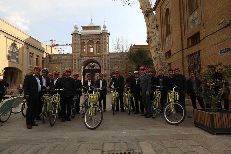 اجتماع دوچرخه سواران در تهران و دیگر شهرها