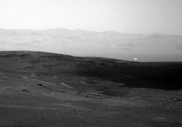 نور مرموزی در مریخ رصد شد