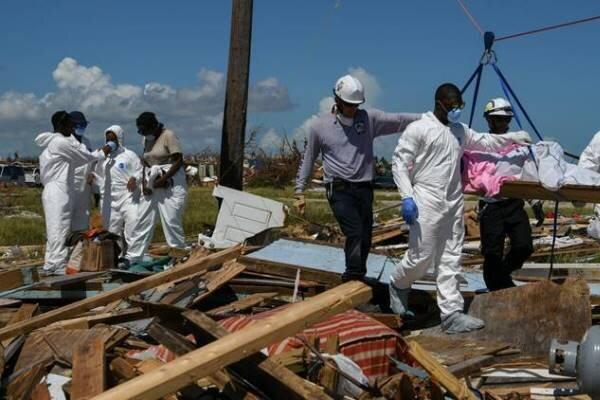 شمار مفقودشدگانِ طوفان دوریان در باهاما به 2500 تن رسید