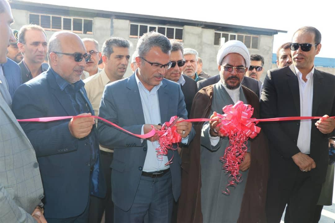 افتتاح طرح های عمرانی و صنعتی در شهرک صنعتی قیروکارزین