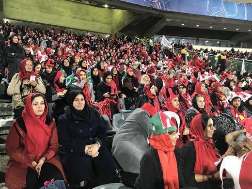 جزئیات ورود بانوان به استادیوم آزادی در بازی ایران و کامبوج