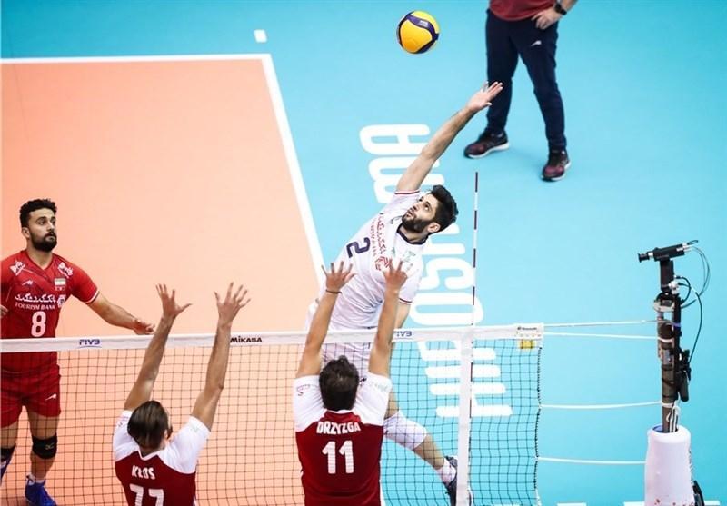 جام جهانی والیبال، خاتمه تلخ ایران با شکست مقابل لهستان