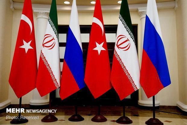 تاکید بیانیه ایران روسیه وترکیه برحمایت ازکمیته قانون اساسی سوریه