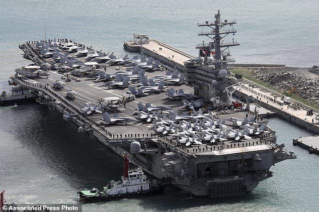واشنگتن 4،7 میلیاد دلار برای استقرار نظامیانش از کره جنوبی طلب کرد
