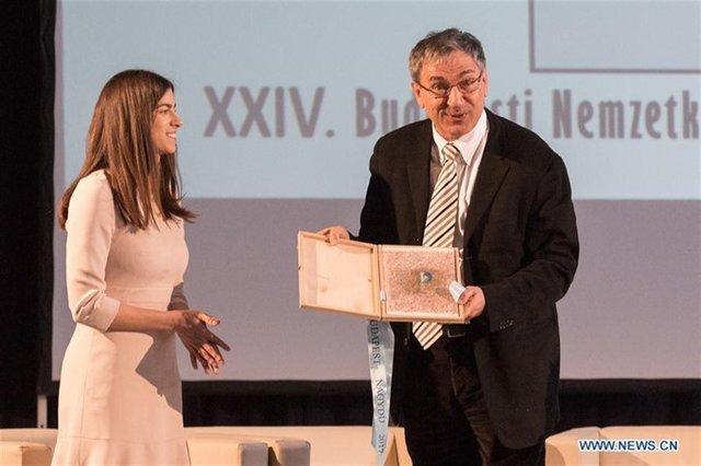 پاموک جایزه بزرگ جشنواره بوداپست را گرفت
