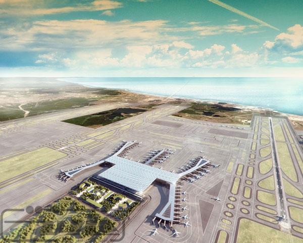 فرودگاه جدید استانبول بزرگترین ترمینال فرودگاهی