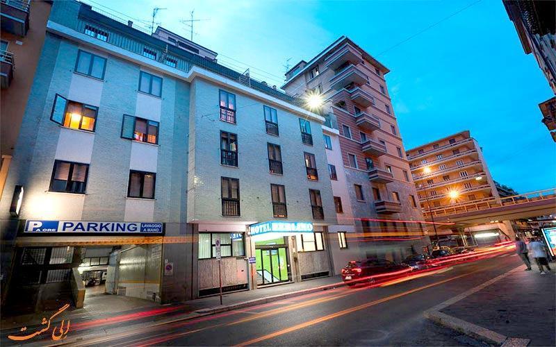 معرفی هتل 3 ستاره برلینو در میلان