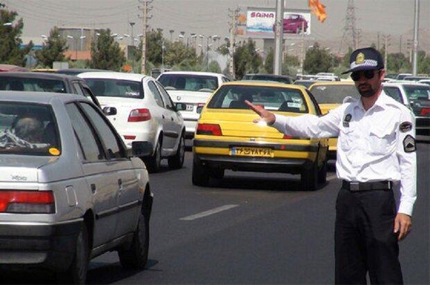 ترافیک متراکم صبحگاهی بعد از سه روز تعطیلات در پایتخت