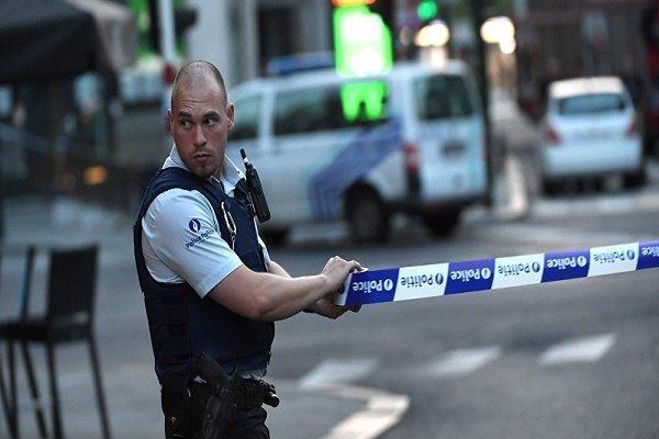 پلیس در بلژیک به فردی مسلح تیراندازی کرد