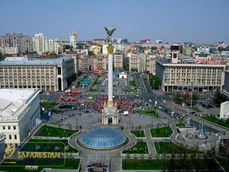 بلیط هواپیما کی یف مرکز فرهنگی اوکراین