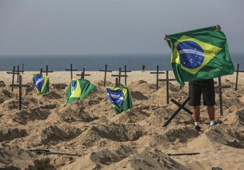 کرونا در برزیل؛ 1109 قربانی در یک روز