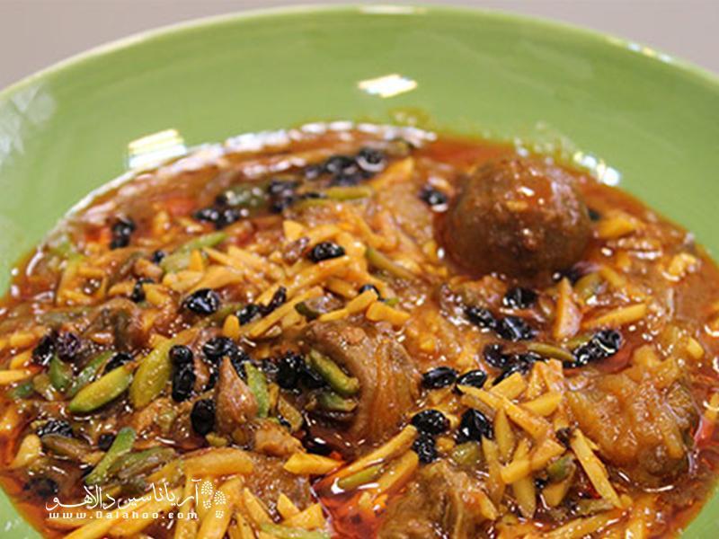 غذاهای سنتی کرمانشاه