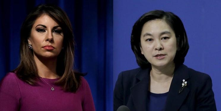 طعنه سنگین سخنگوی وزارت خارجه چین به سخنگوی وزارت خارجه آمریکا