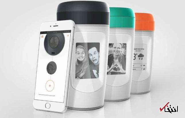 این لیوان قهوه عکس های دلخواهتان را پخش می نماید