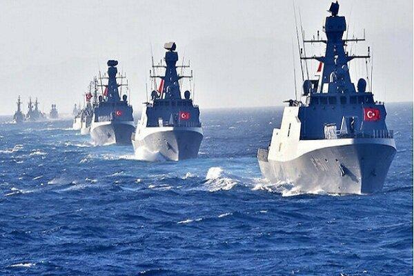 ترکیه رزمایش بزرگی را در سواحل لیبی برگزار می کند