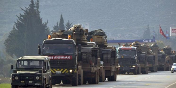 ترکیه مجدداً تجهیزات نظامی به شمال سوریه ارسال کرد