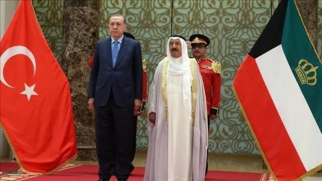 پیغام مکتوب امیر کویت به اردوغان
