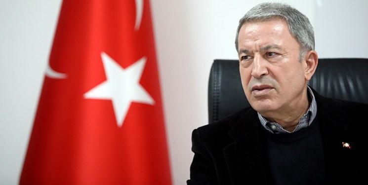 وزیر دفاع ترکیه: بدون توقف حمایت ها از حفتر، لیبی روی ثبات را نخواهد دید