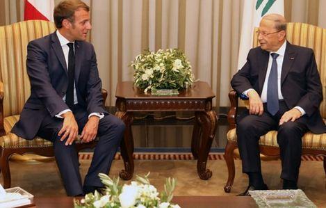 دیدار ماکرون با مقامات لبنانی و تشریح اهداف سفر به بیروت