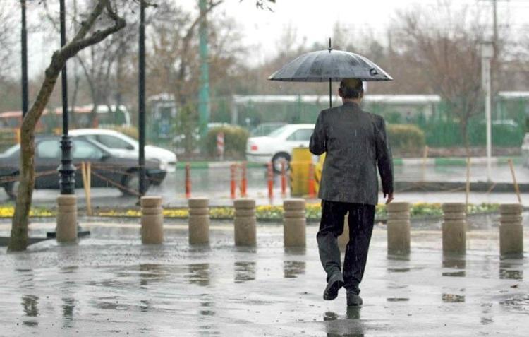 هواشناسی؛ پیش بینی ادامه بارش باران و کاهش دما تا روز یکشنبه
