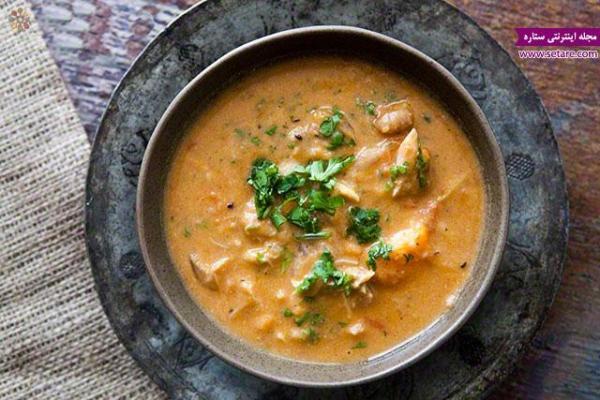 طرز تهیه سوپ ماهی با طعم سیر