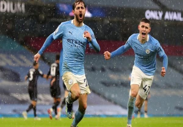 لیگ برتر انگلیس، منچسترسیتی با پیروزی در بازی معوقه صدرنشین شد
