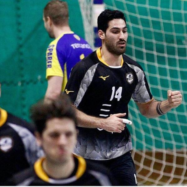 چهارمین ملی پوش هندبال ایران جذب بوزائو رومانی شد
