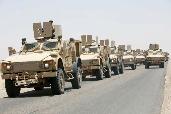 ائتلاف متجاوز سعودی به جبهه مأرب نیرو وتجهیزات نظامی ارسال می نماید