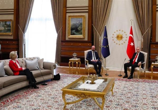 جنجال بر سر تشریفات ملاقات اردوغان با سران اتحادیه اروپا