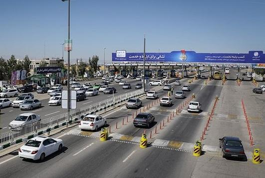 آزادراه ساوه-تهران-ساوه پرترددترین جاده کشور در شبانه روز گذشته شد