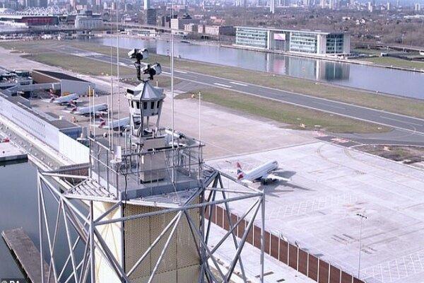 نخستین برج مراقبت دیجیتالی جهان در فرودگاه لندن فعال شد