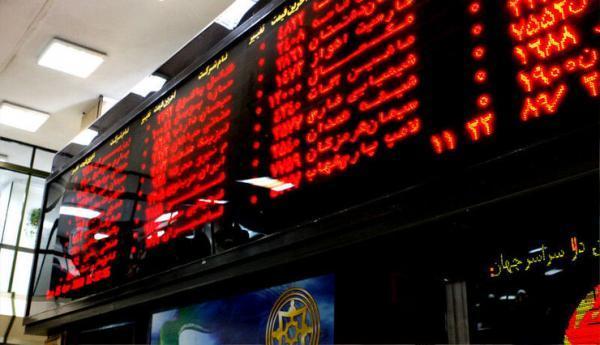 افت 2 هزار و 319 و احدی شاخص بورس در خاتمه معاملات