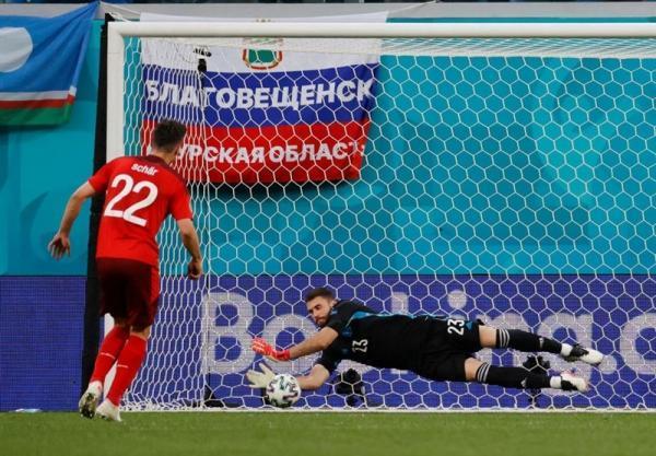 یورو 2020، اونای سیمون؛ برترین بازیکن ملاقات سوئیس و اسپانیا