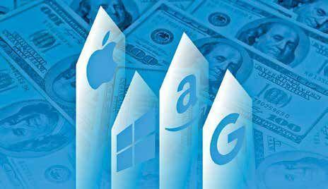 کمپانی های چندتریلیون دلاری فناوری با سرمایه های خود چه می نمایند؟